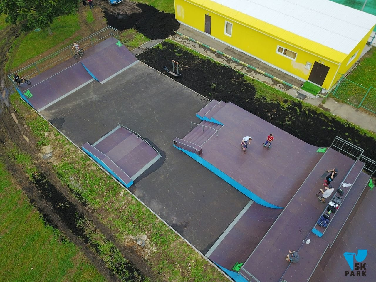 Установка скейт-парка в Бибирево, г.Москва