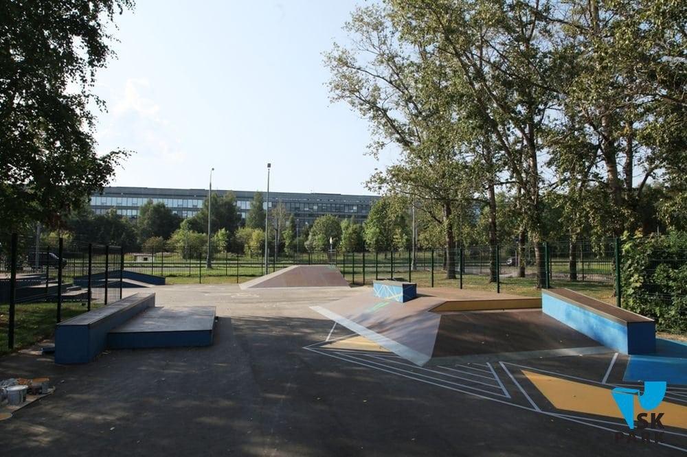 Скейтпарк в Зеленограде, МО