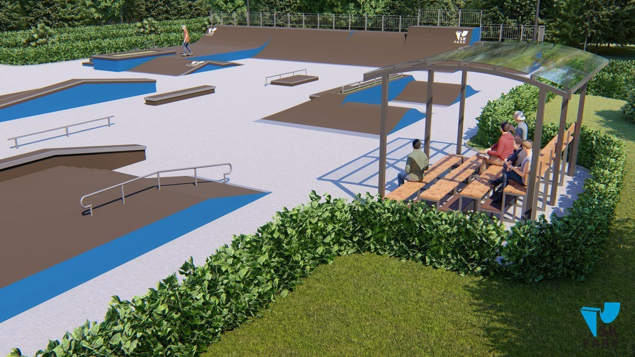 Проект скейт парка SK 36-28