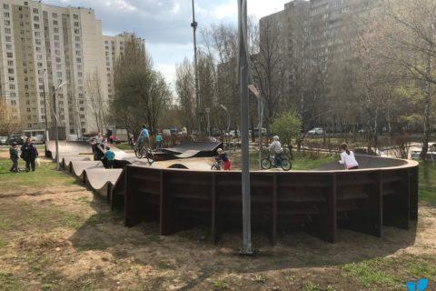 Фото Установка памп трека на Теплом Стане, Москва