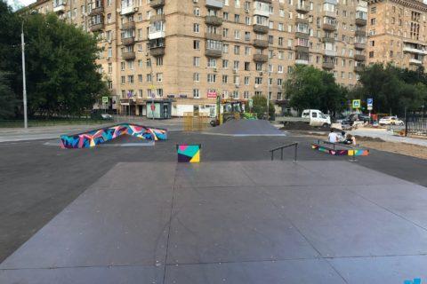 Фото Скейт парк на Киевской, Москва / Skatepark in Moscow
