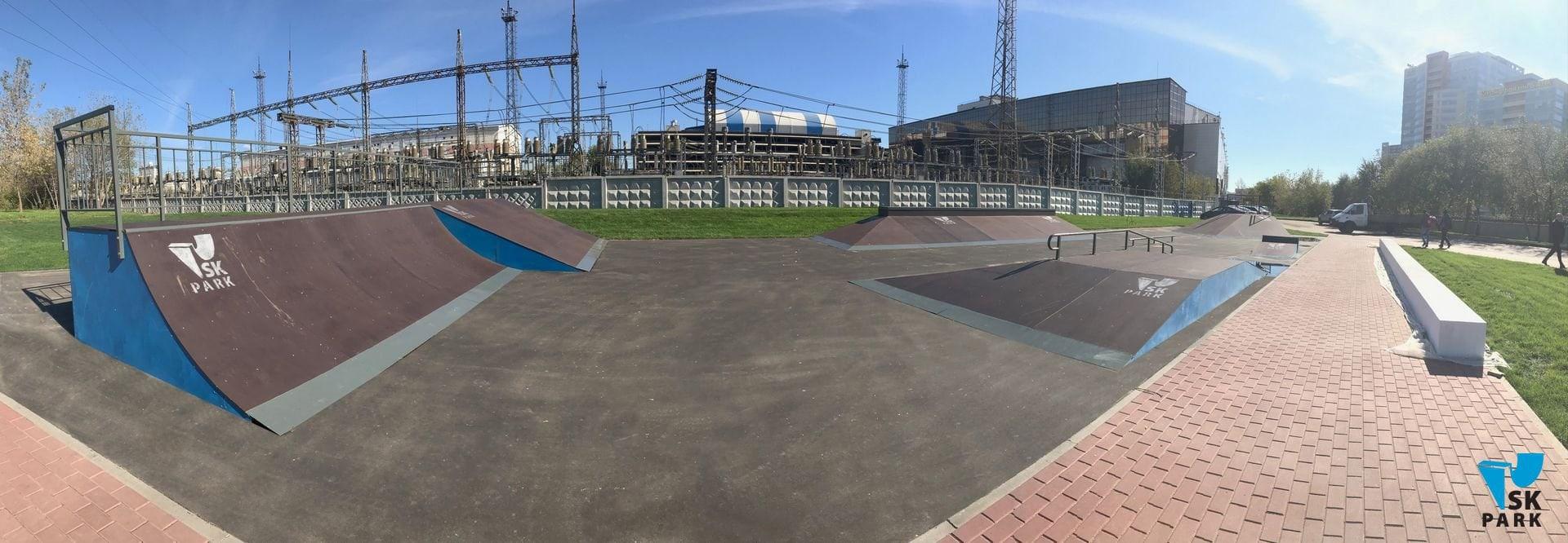 Скейт парк в Кожухово, Москва / Skatepark in Moscow by SK PARK