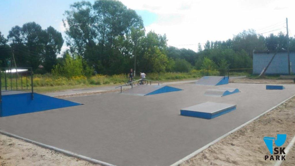 Скейт парк в Чкаловске / Skatepark in Chkalovsk
