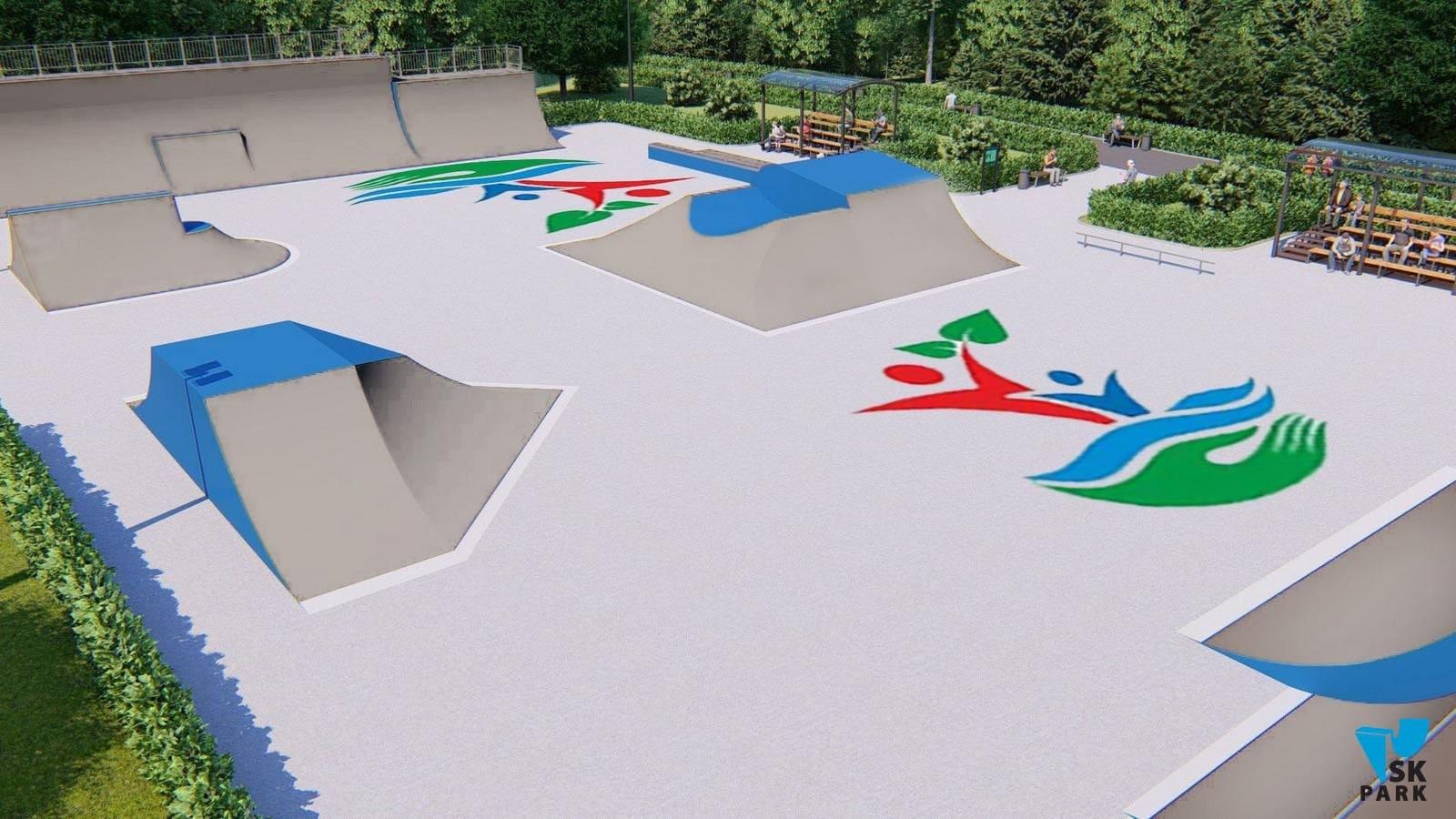 Бетон для скейтпарка лопата для бетона