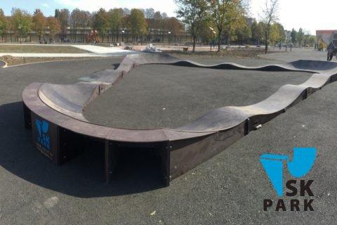 Фото Детский памп трек и паркур парк в г. Георгиевск