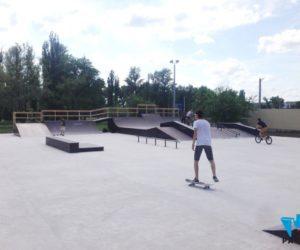 бетонное основание скейтпарка в Аксае
