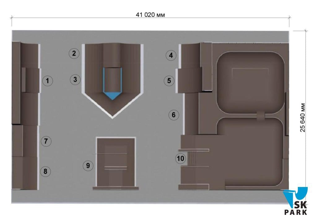 скейт парк план проекта