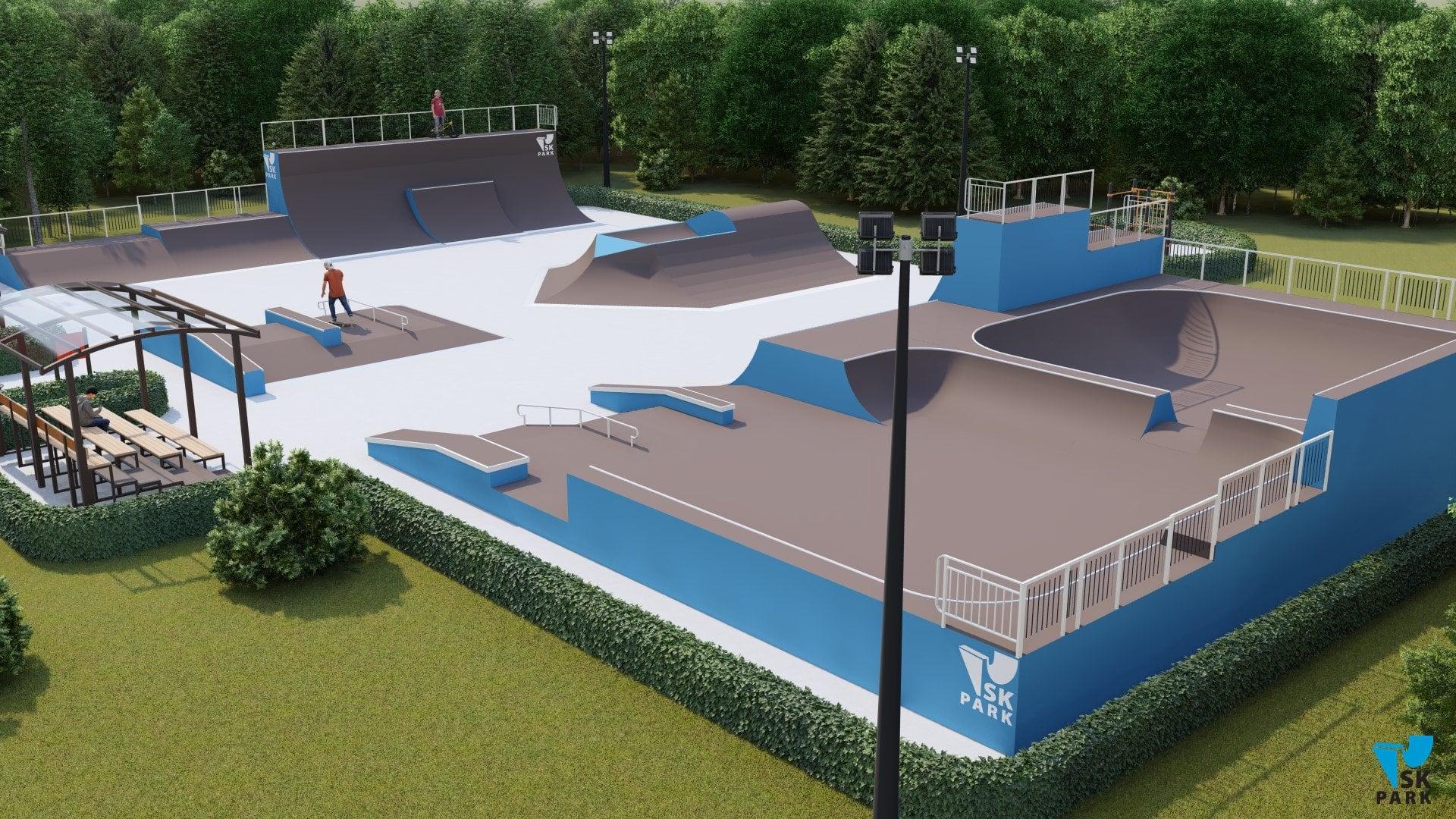 скейт парк проект