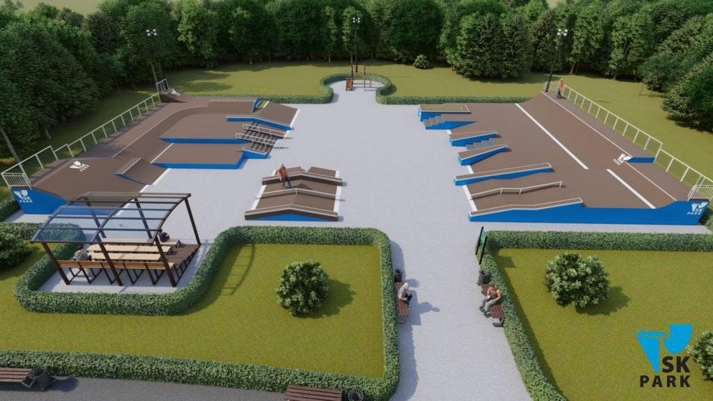 Проект скейт парка SK 39-23