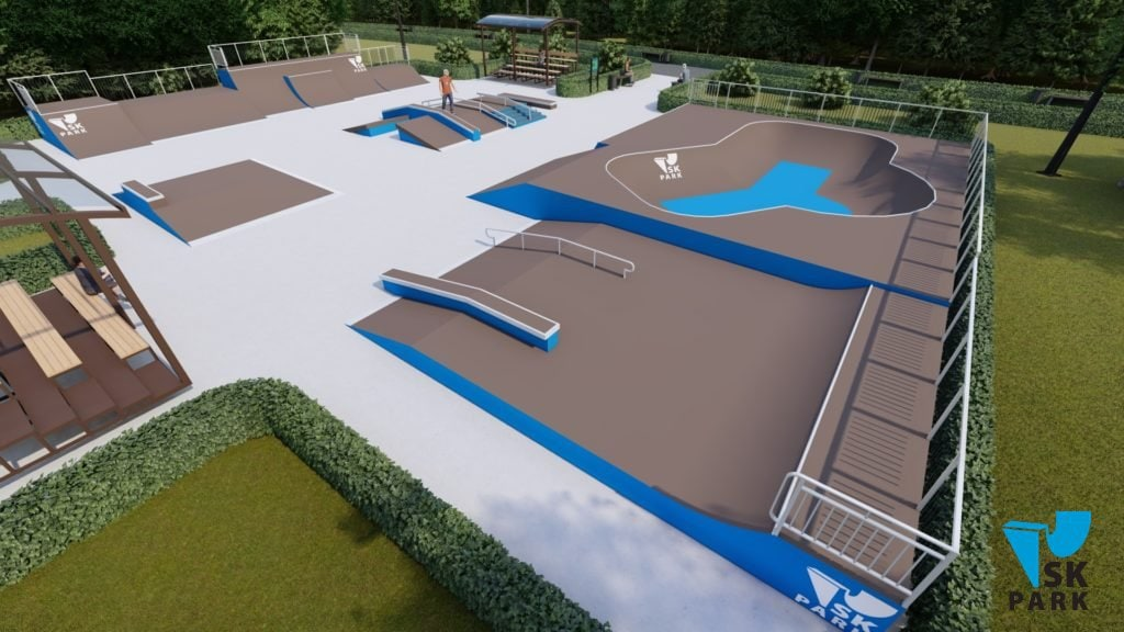 Проект скейт парка SK 31-21