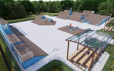 пример униврсального скейт парка