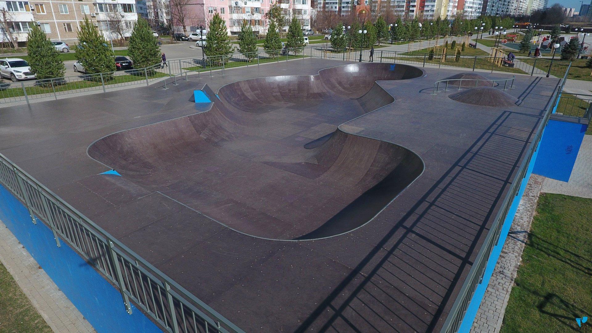 Боул в Краснодаре / Skate bowl in Krasnodar by SK PARK