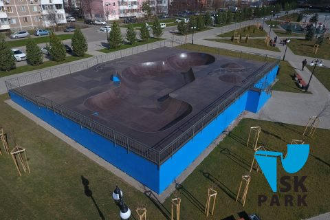 Фото Боул в Краснодаре / Skate bowl in Krasnodar by SK PARK