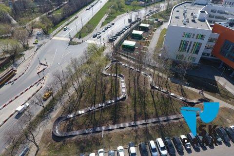 Фото Самый длинный модульный памп трек в России от SK PARK / Modular pumptrack  by SK PARK