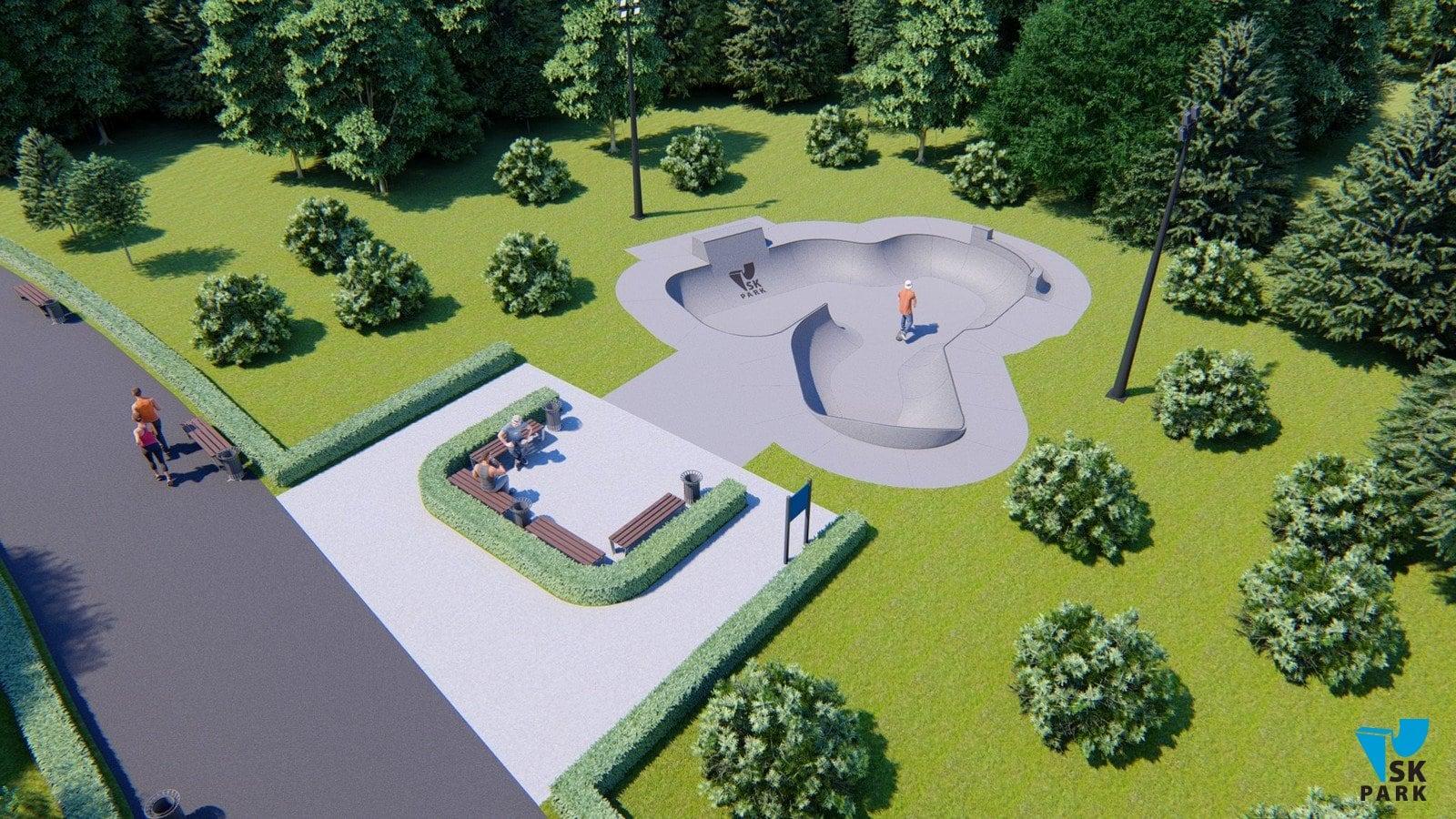Проект бетонного боула SKBB-02