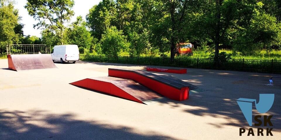 Скейт площадка в Твери