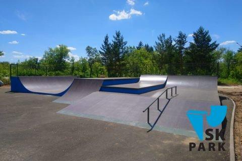 Фото Установка скейт площадки в Караганде, РК / Skate park in Karaganda by SK PARK