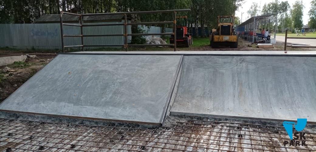 Бетон для скейтпарка оборудование для инъекции цементных растворов