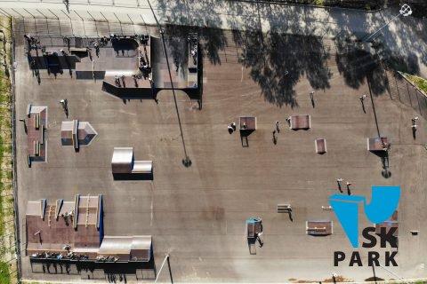 Фото Мультфункциональный скейт парк в Санкт Петербурге / Skate park in St. Petersburg by SK PARK