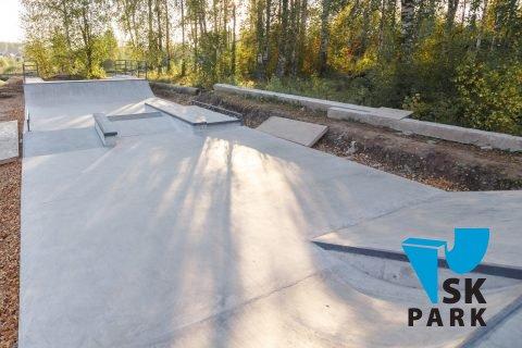 Фото Бетонный скейт парк в г.Буй, Костромская область/ Concrete skatepark in Bui, Russia