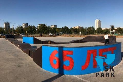 Фото Модульный памп трек в Волжском / Modular pump track in Volzhskiy