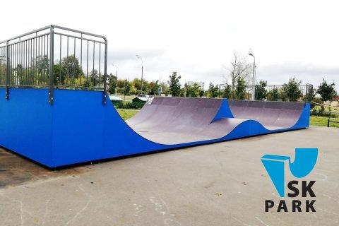 Фото Мини рампа со спайном в Крюково, Зеленоград / Mini ramps in Zelenograd
