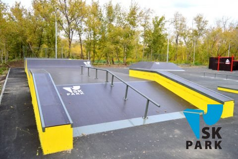 Фото Спортивный кластер: Скейт парк и Паркур площадка г.Орск / Skatepark and Parkour park in Orsk