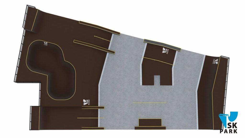 Проект спортивного кластера для молодежи Concept SK–08