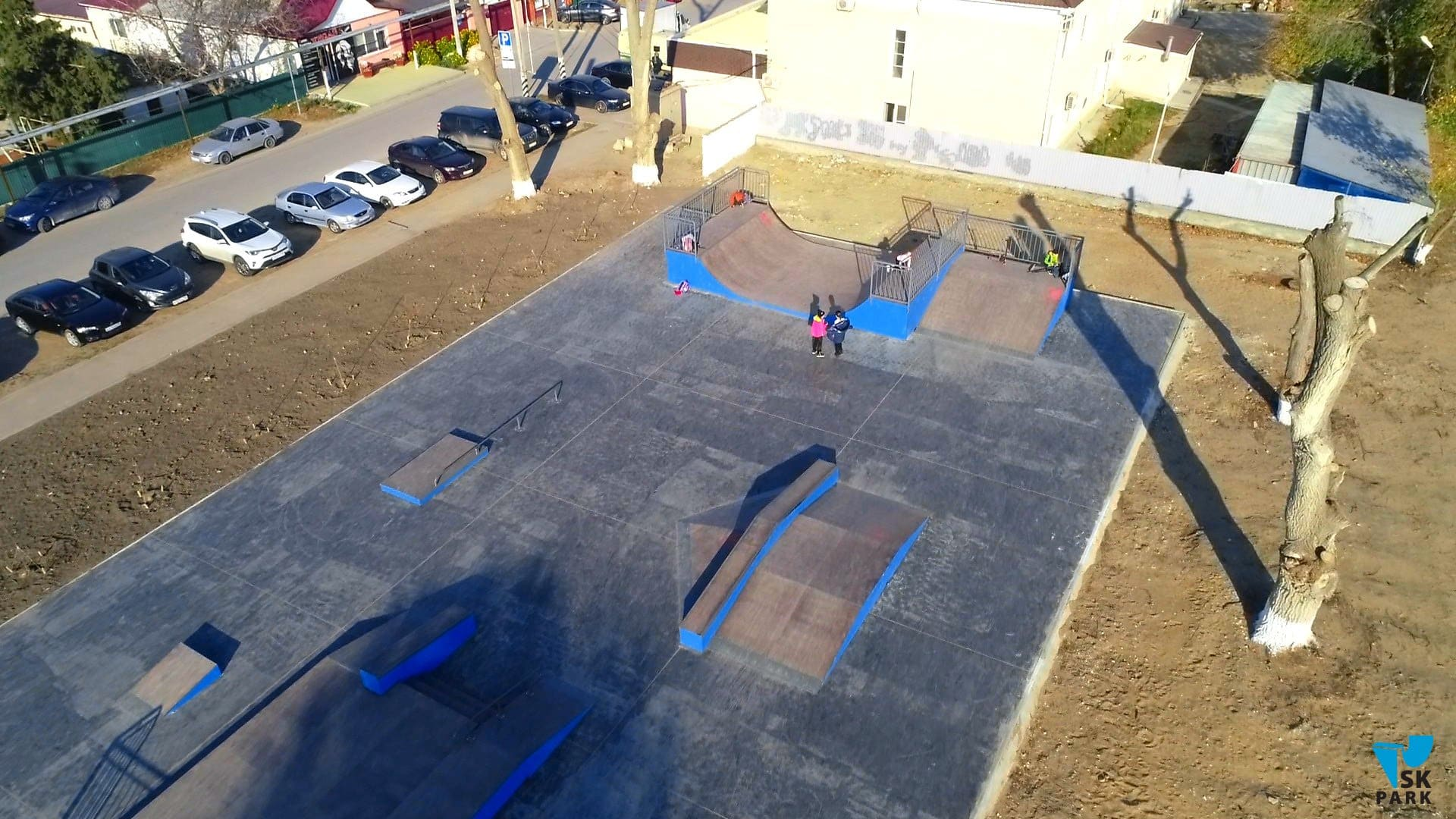 Скейт парк и воркаут площадка в Тамани