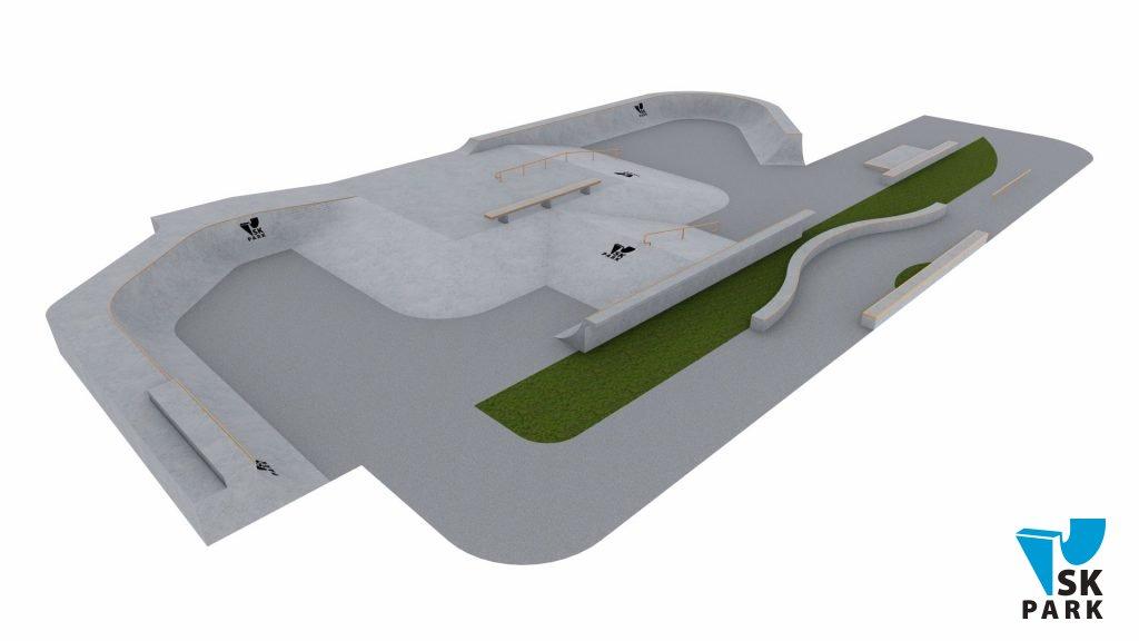 Проект спортивного кластера для молодежи Concept SK-07