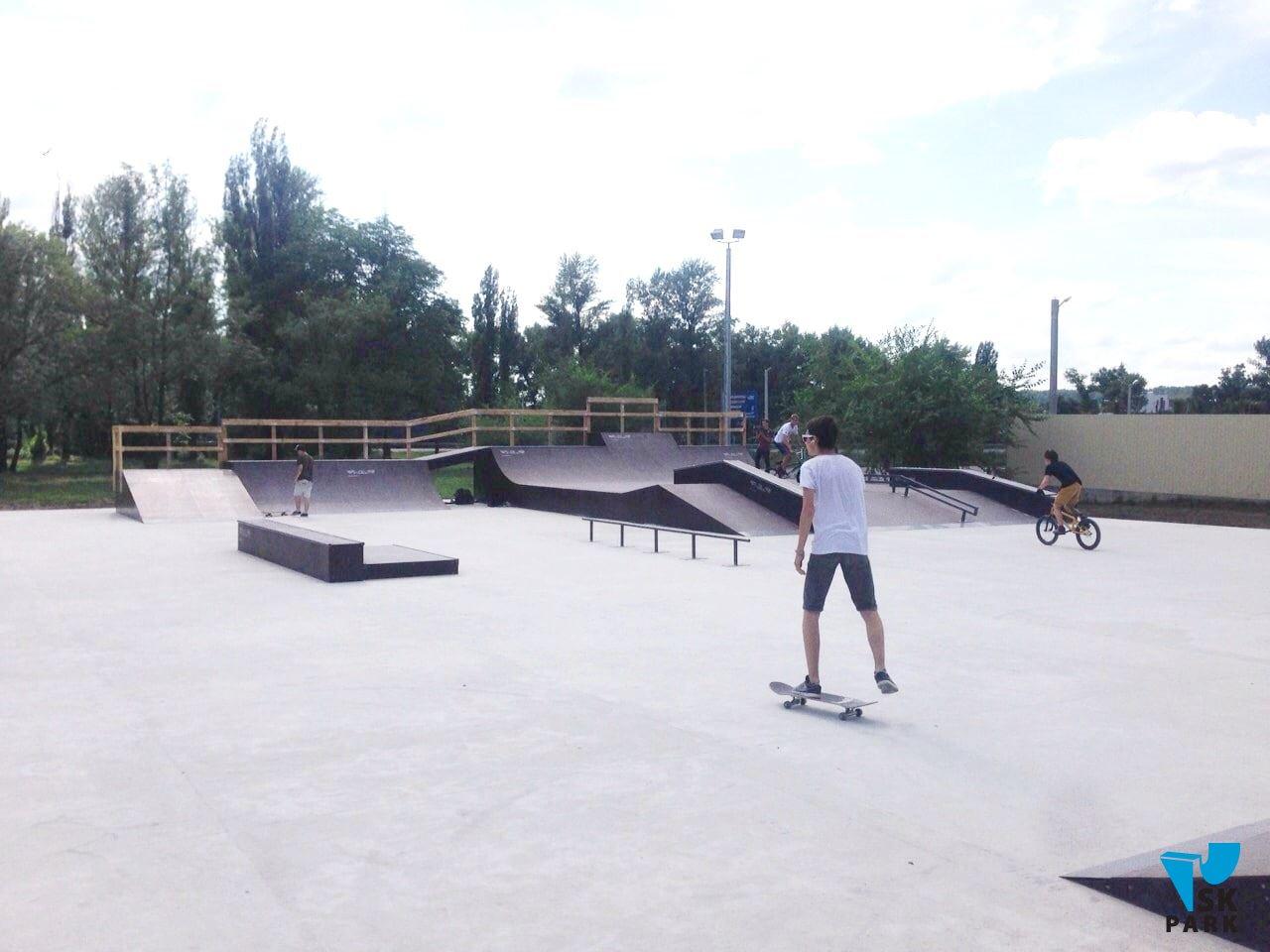 Каким должно быть основание для скейт парка?