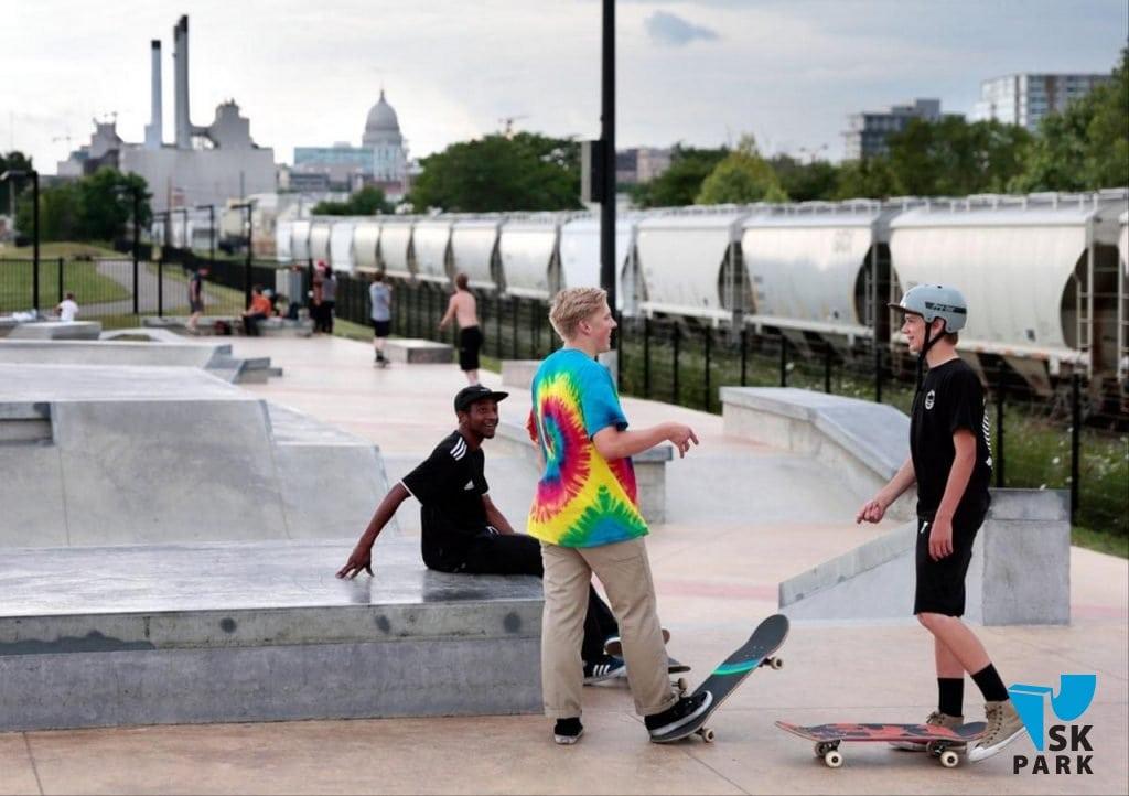 Скейтпарк может решать социальные проблемы