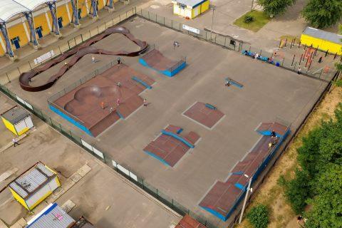 Фото Скейт парк в Борисове, Белоруссия / Skatepark in Borisov