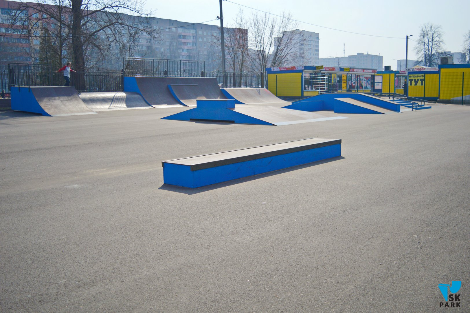 Скейт парк в Борисове, Белоруссия / Skatepark in Borisov