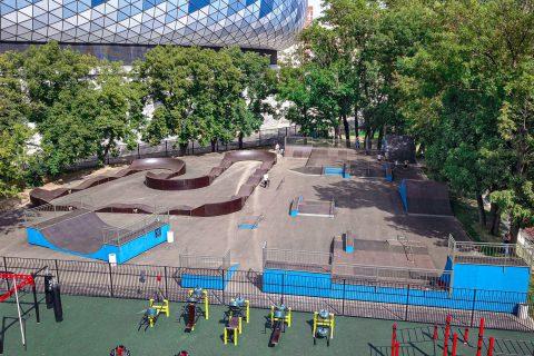 Фото Скейт парк в Москве, ВТБ арена | Skate park in Moscow, VTB arena