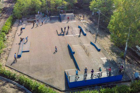 Фото Скейт парк в г. Рубцовск | Skate park in Rubtsovsk