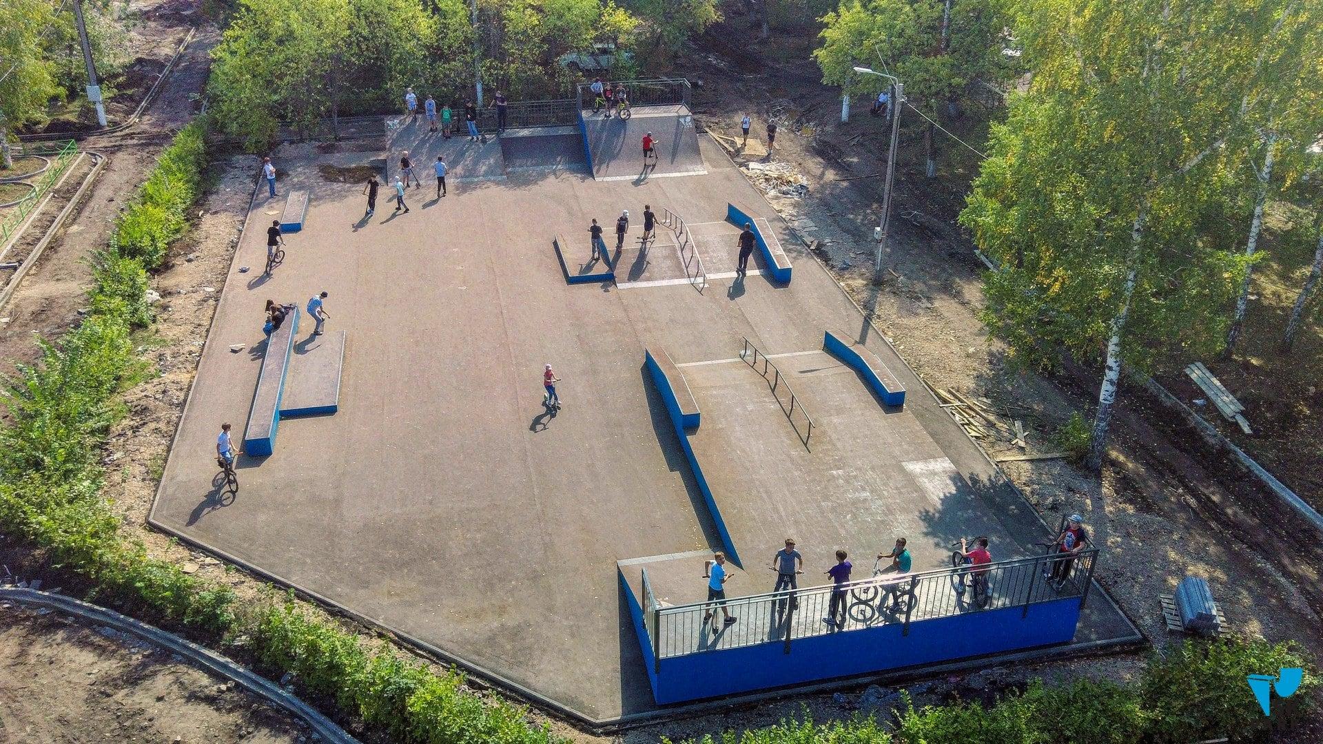 Новый скейт парк в г. Рубцовск