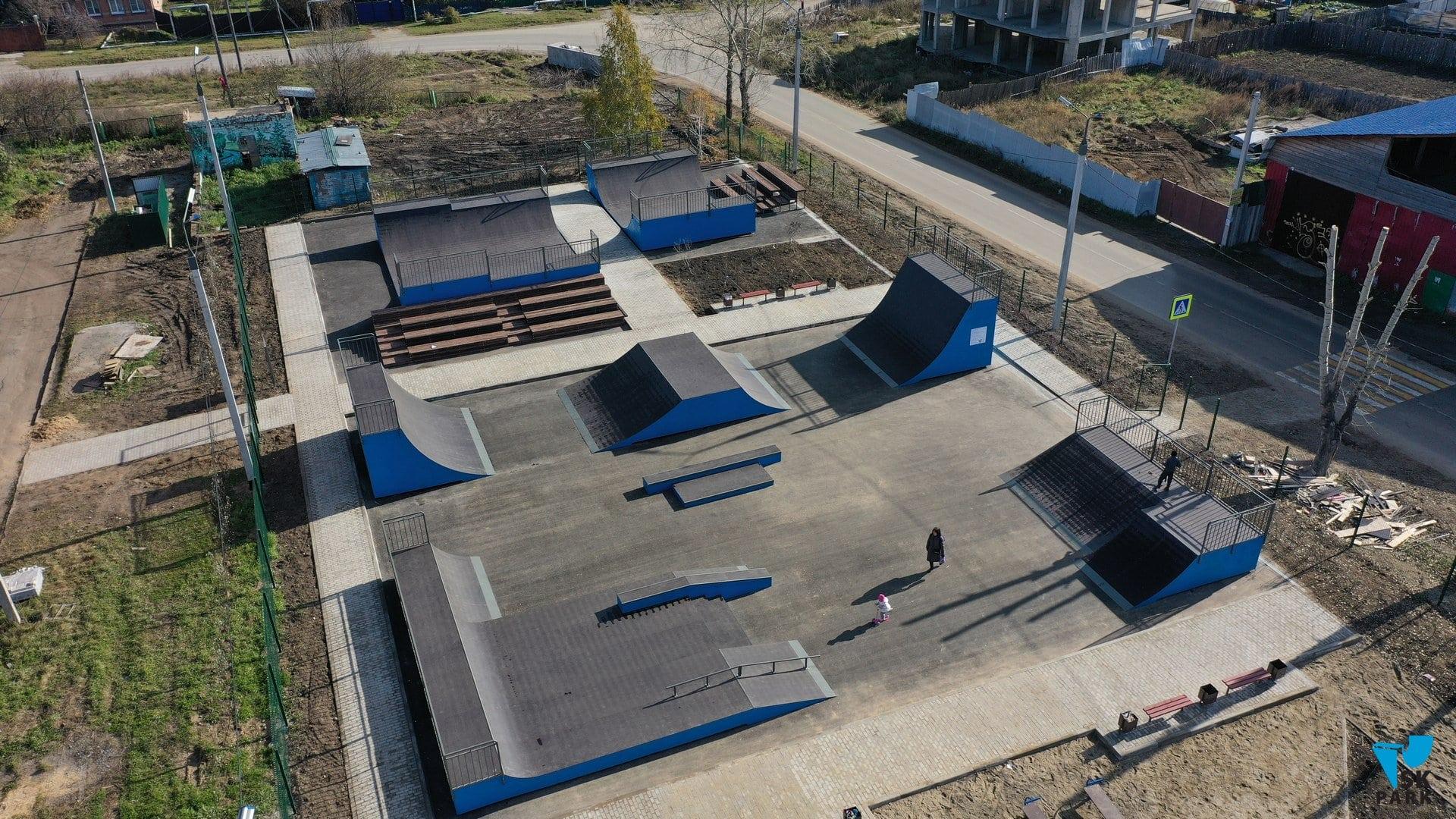 Скейт парк и Воркаут площадка в Иркутской области