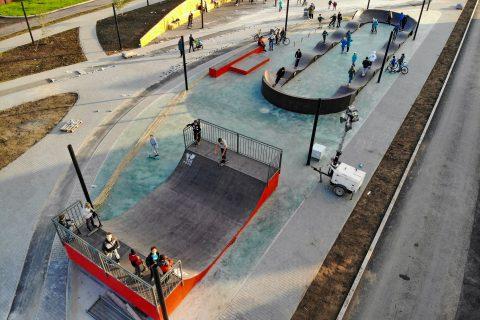 Фото Скейт парк с памп-треком в городе Ишим