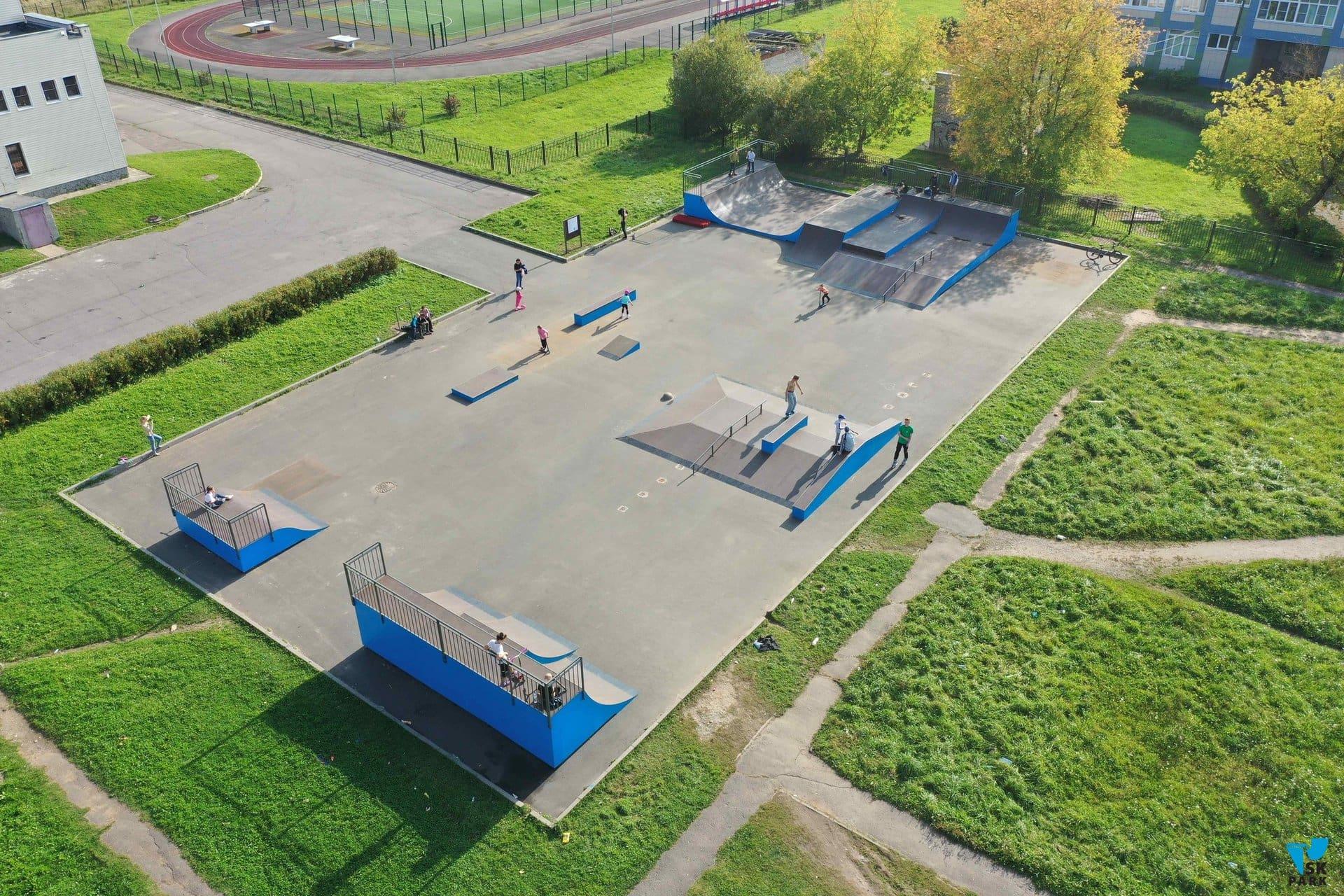 Скейт парк в г.Волхов