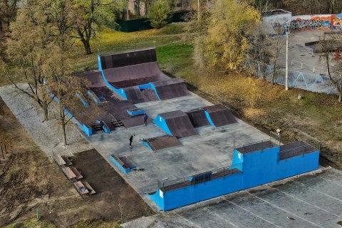 Фото Универсальный скейт парк в Белгороде / Universal skate park in Belgorod by SK Park