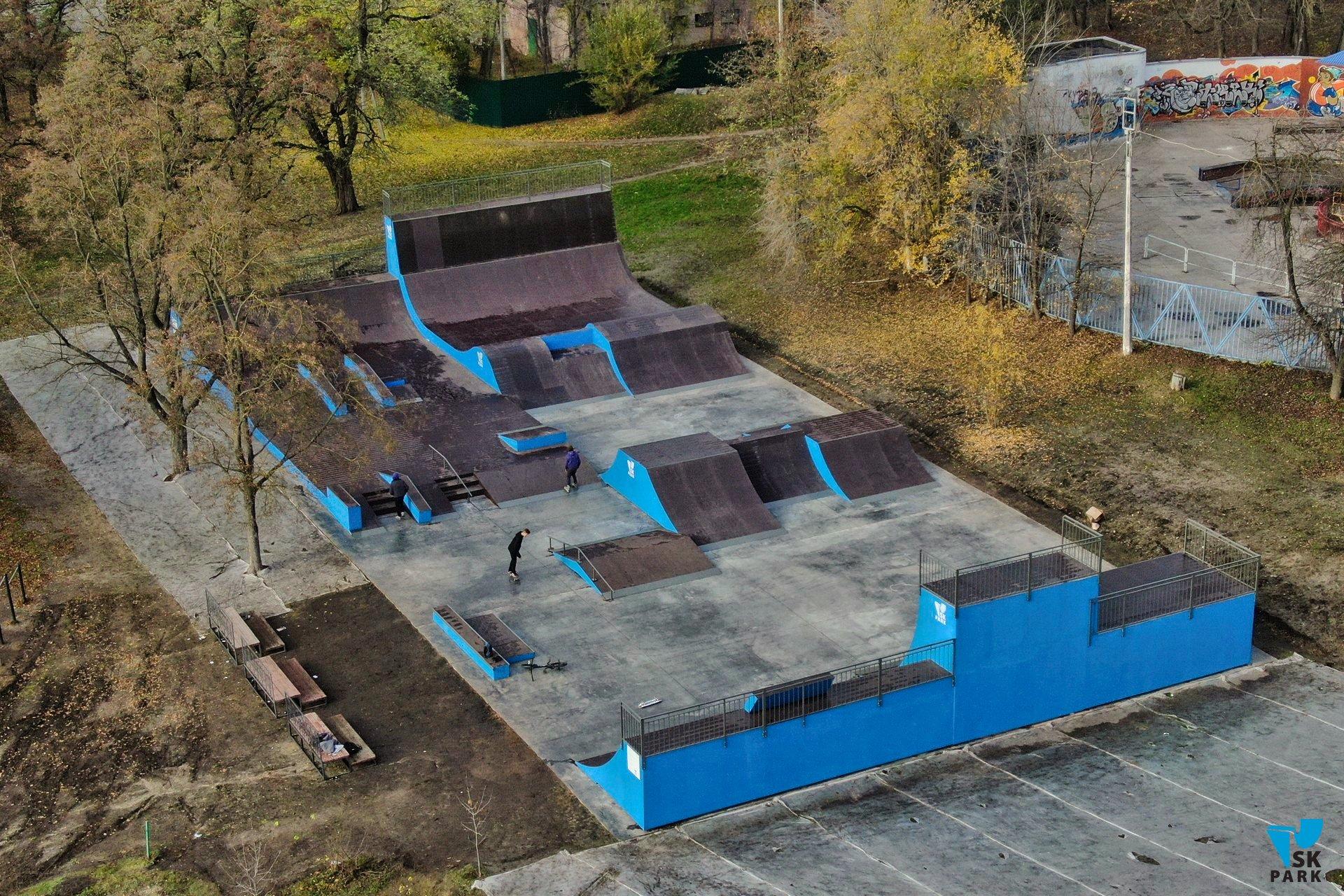 Новый универсальный скейт парк в Белгороде