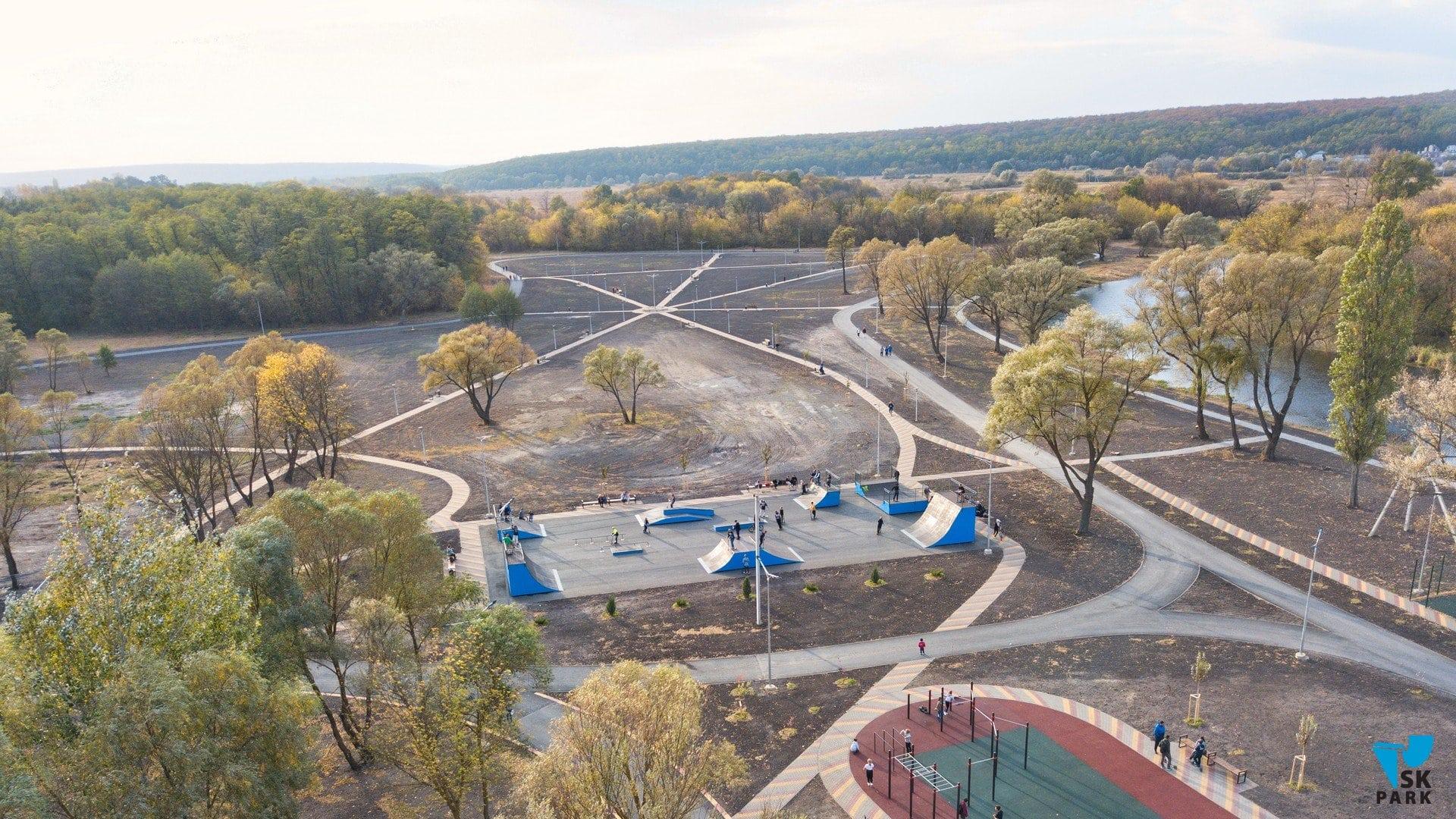 Новый скейт-парк в г.Шебекино