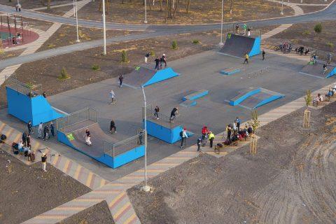 Фото Скейт парк в г. Шебекино