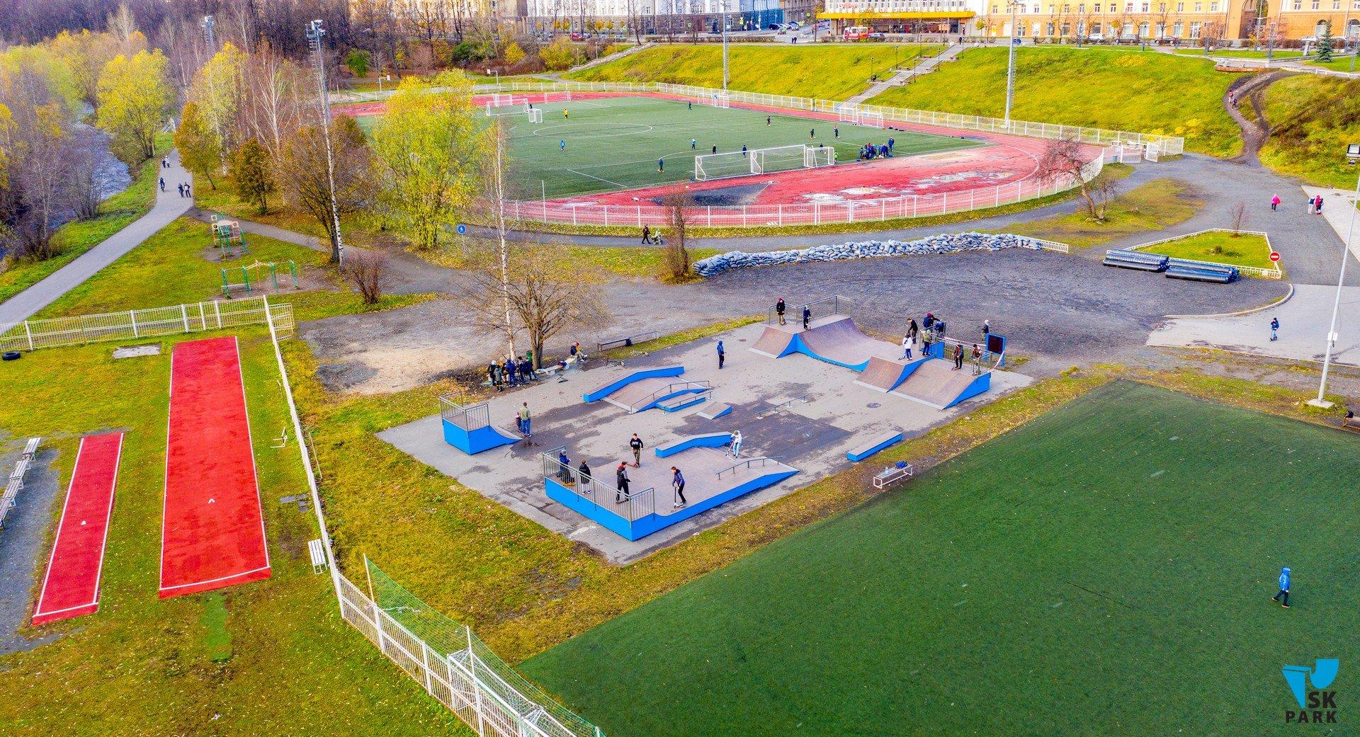 Новый скейт-парк в г.Петрозаводск