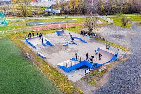Фото Универсальный скейтпарк в г. Петрозаводск
