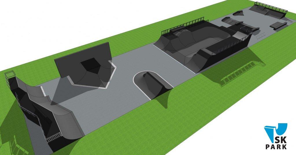 Компания СК ПАРК выиграла тендер на строительство скейт-парка в г. Котовск (вторая очередь)