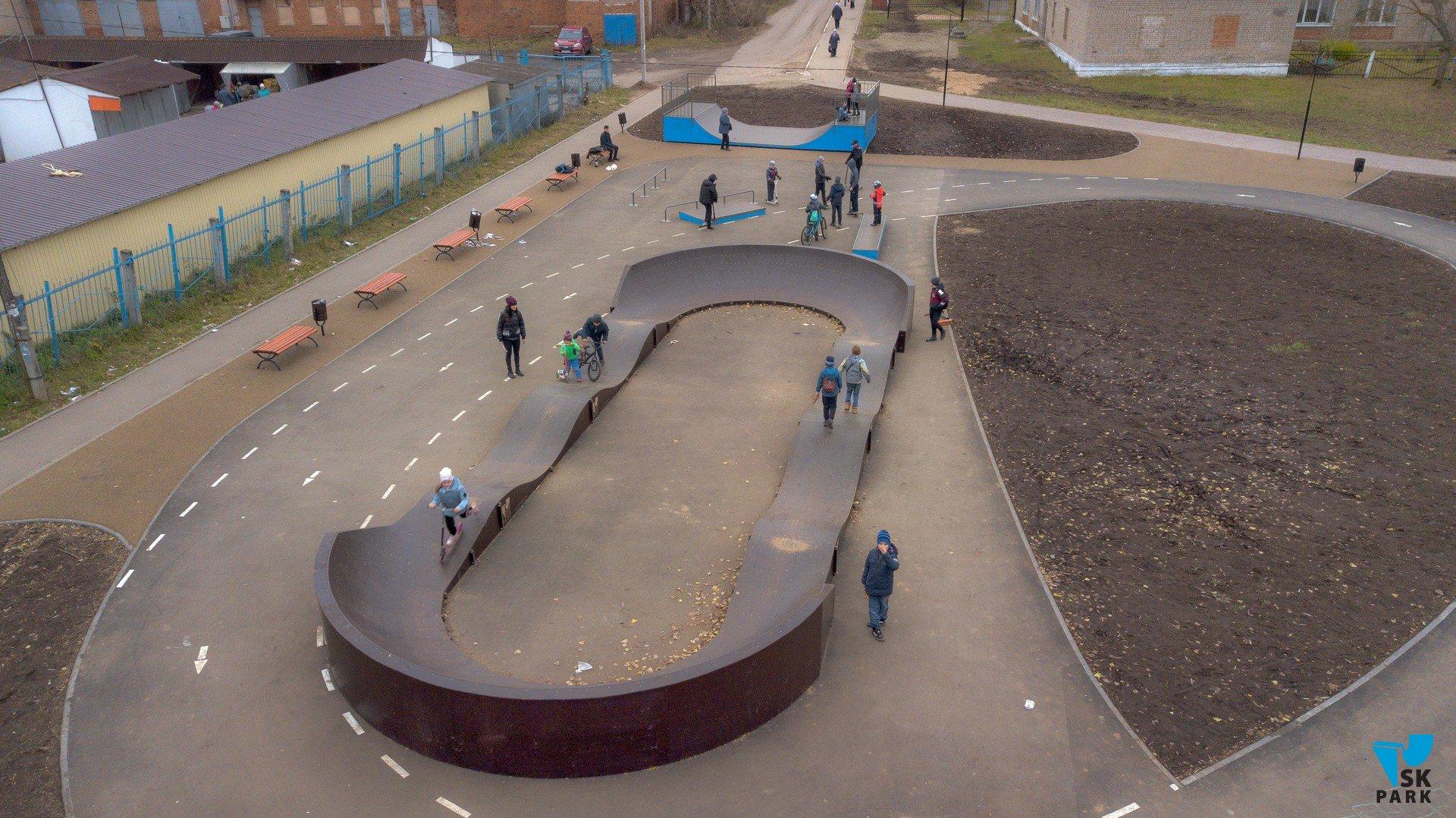 Скейтпарк с памп-треком в г.Фурманов