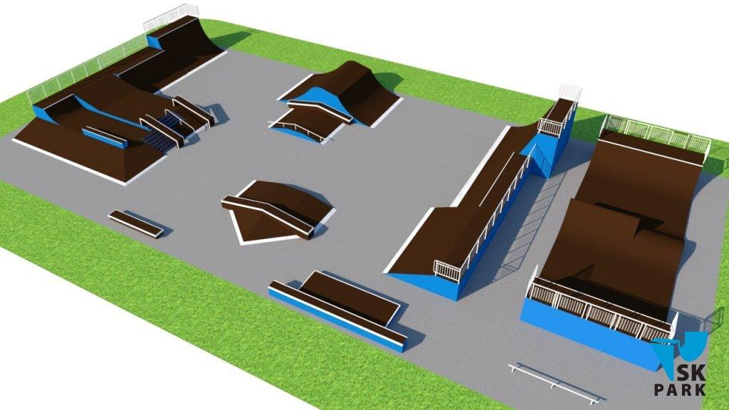 Компания SK PARK приступила к производству скейт-парка в г. Байконур (Казахстан)