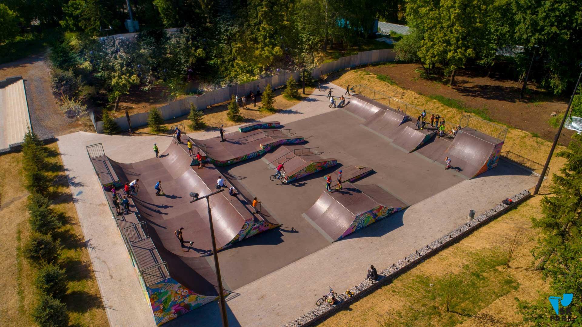 Скейт парк в г. Уфа